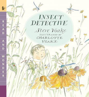 Insect detective book cover