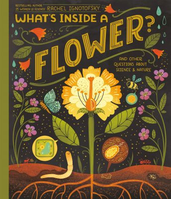 Whats inside a flower book cover